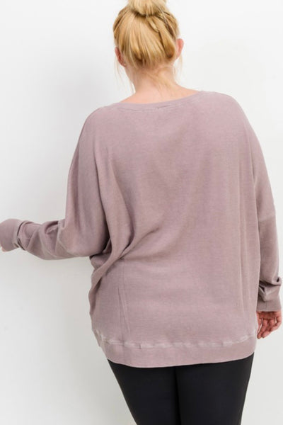 Mineral Washed Pullover (2 colors)