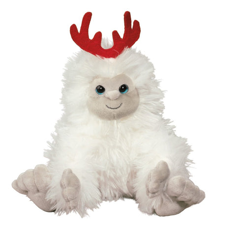 Holiday Yeti With Antlers