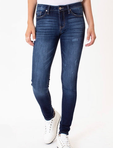 Perfect Dark Wash Skinny Jeans