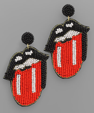French Kiss Bead Earrings