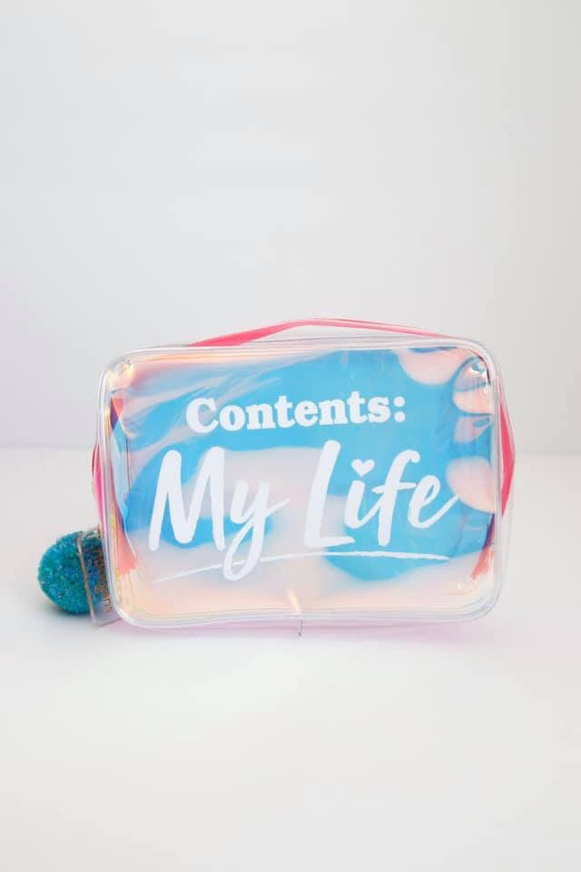 Contents: My Life Kit bag