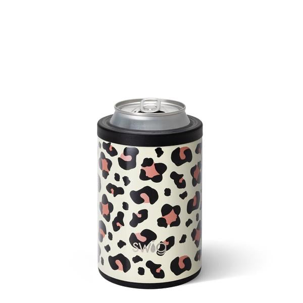 Luxy Leopard Can & Bottle Cooler