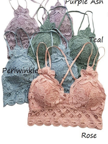 Lace Bralette (3 colors)