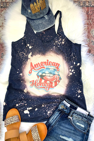 American Honey Deep Navy Tank