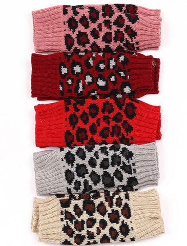 LeopardTexting gloves (6 Colors)