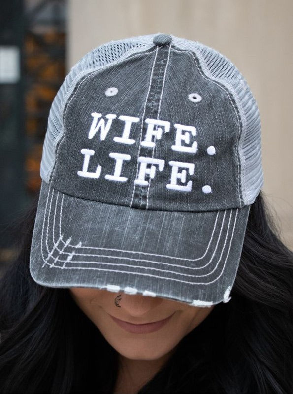 WIFE LIFE hat