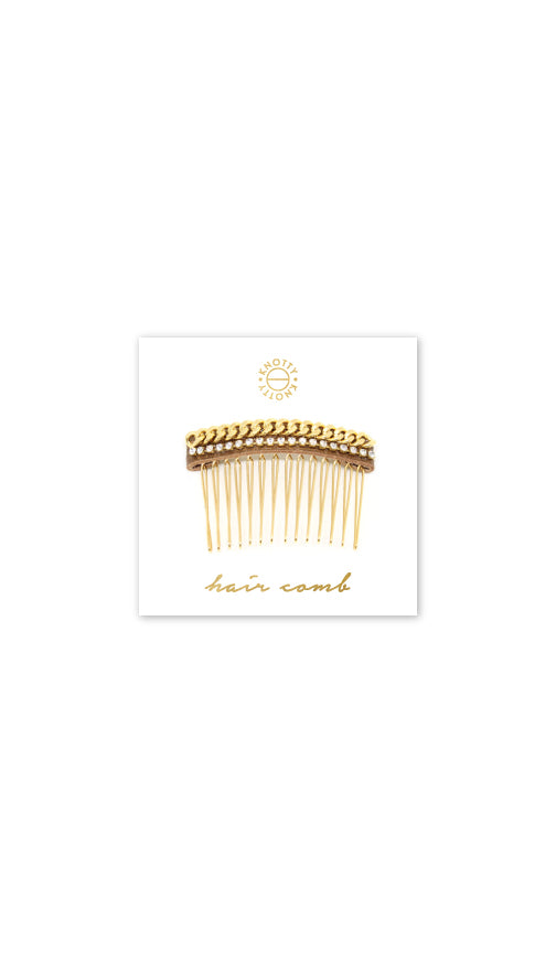 Huxton Hair Comb | Gold - Knotty