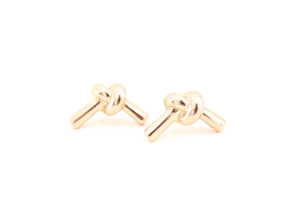 Love Me Knot Stud Earrings | More Colors Available - Knotty