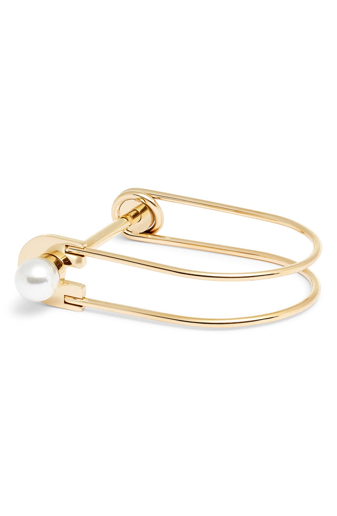 Pearl Lock Bangle | More Colors Available - Knotty