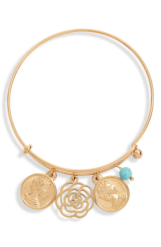 Multi Charm Bangle | More Colors Available - Knotty