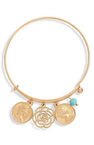 Multi Charm Bangle | More Colors Available
