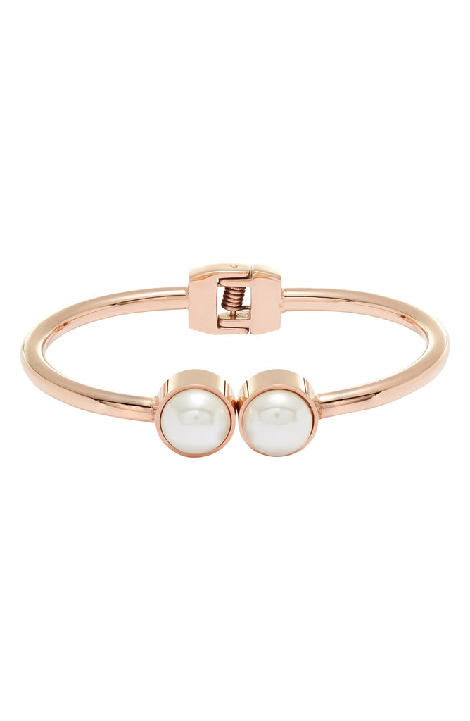 Pearl Hinge Bangle - Knotty
