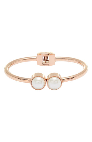 Pearl Hinge Bangle