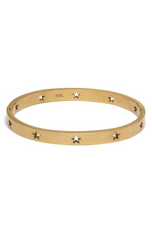 Star Cutout Bangle | More Colors Available