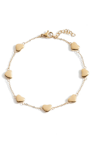 Delicate Heart Bracelet | More Colors Available
