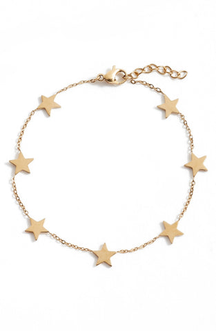 Delicate Star Bracelet | More Colors Available