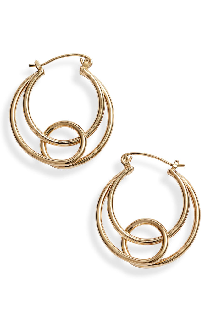Twisted Interlocking Hoops - Knotty
