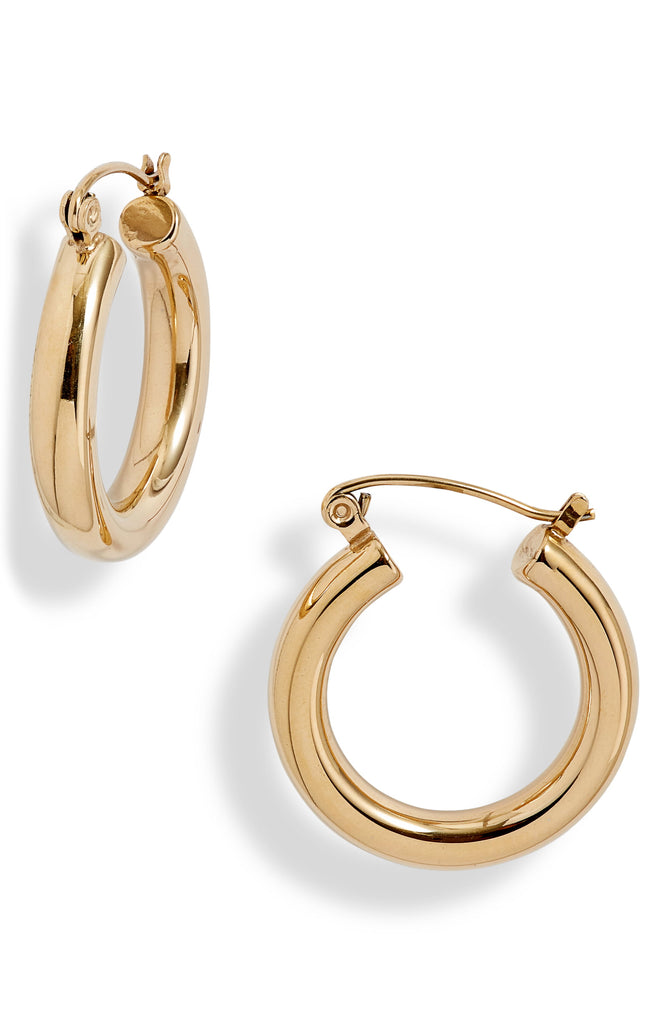 Mini Classic Tube Hoop Earrings | More Colors Available - Knotty