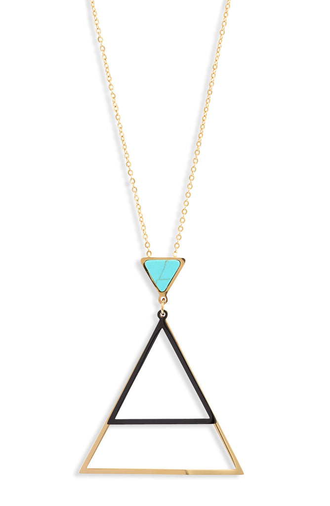 Triangle Focal Necklace - Knotty