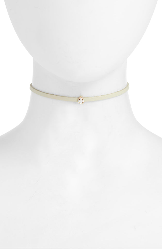 Charm Choker - Bone | More Colors Available - Knotty