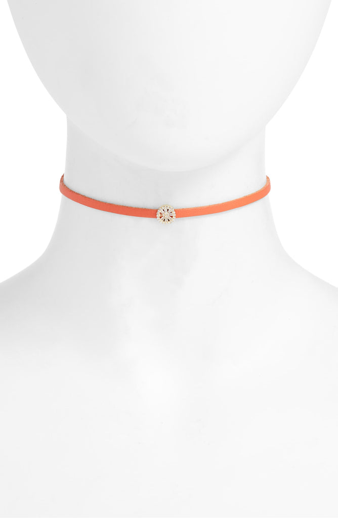 Charm Choker - Orange | More Colors Available - Knotty