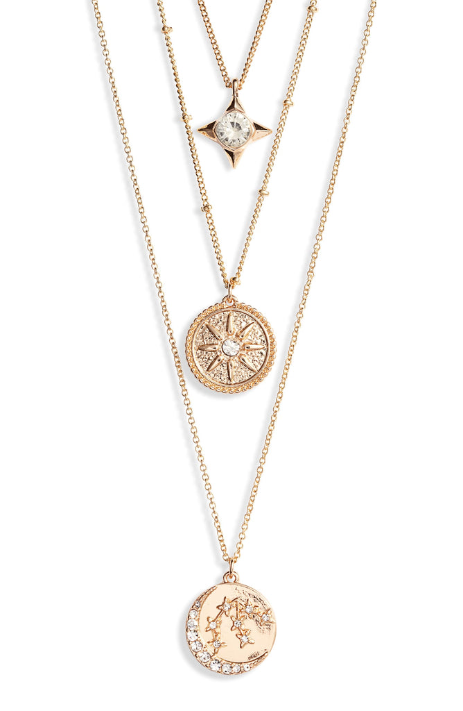 Astrological Charm Necklace - Aquarius - Knotty