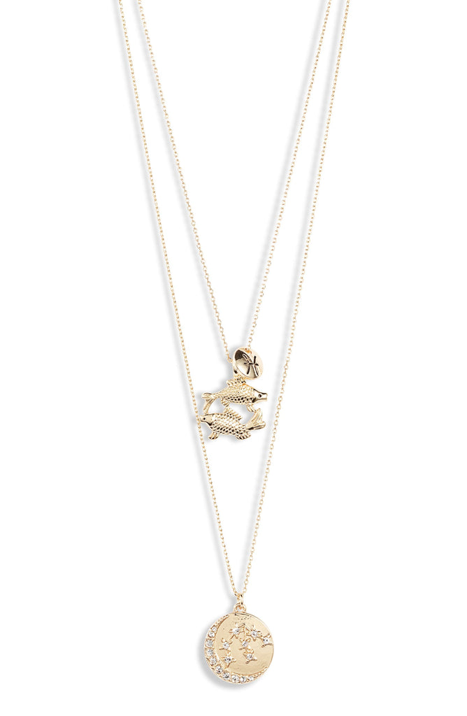 Astrological Charm Necklace - Pisces - Knotty