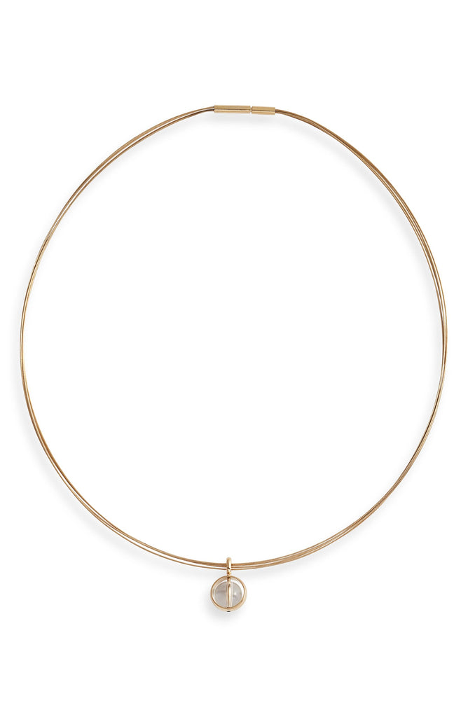 Charm Choker Necklace - Knotty