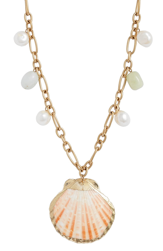 Shells Chain Necklace - Knotty