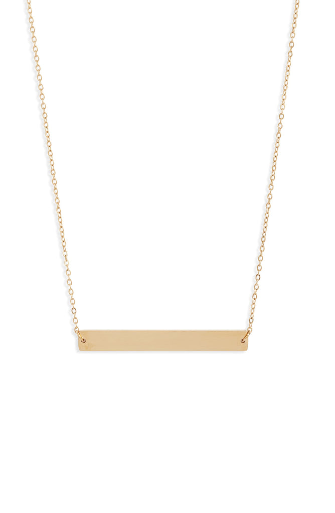 Classic Bar Necklace | More Colors Available - Knotty