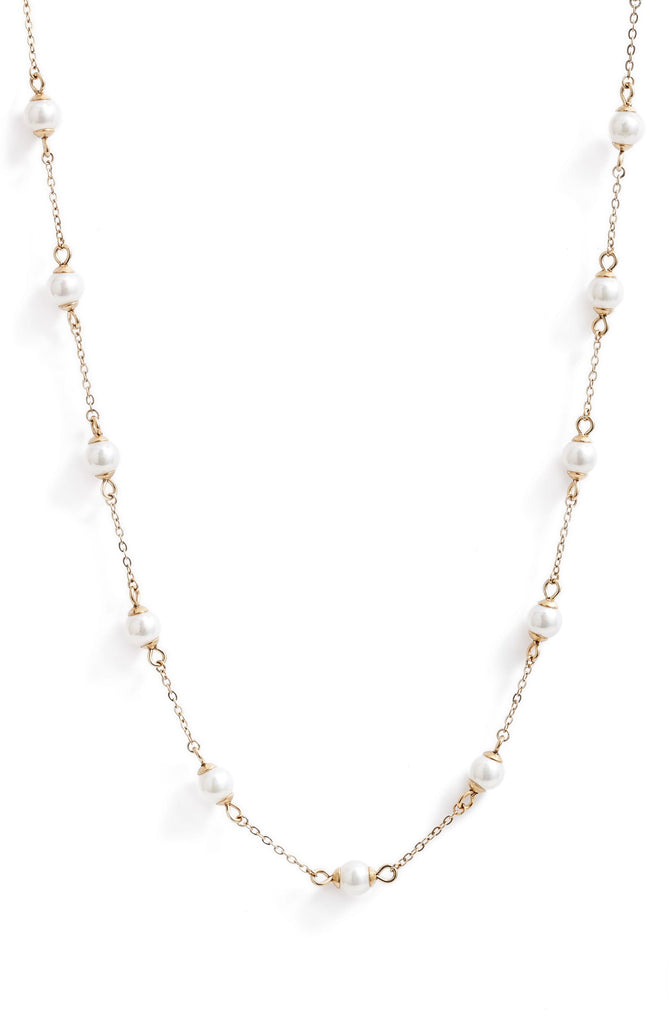 Pearl Choker Necklace - Knotty