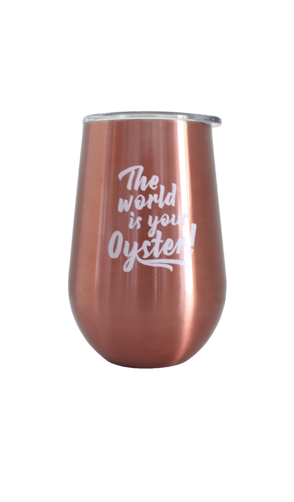 Wine Tumbler | Rose Gold - Knotty