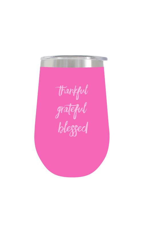 Wine Tumbler | Pink - Knotty
