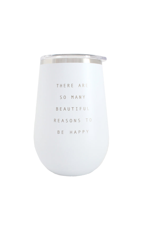Wine Tumbler | White - Knotty