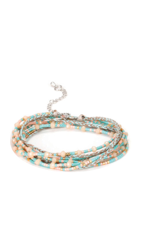 Wrap Friendship Bracelet | Beach - Knotty