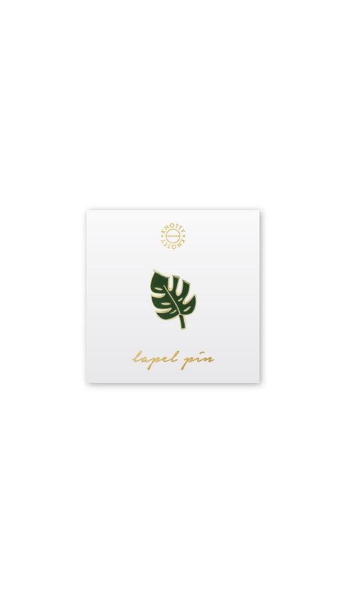 Palm Lapel Pin - Knotty
