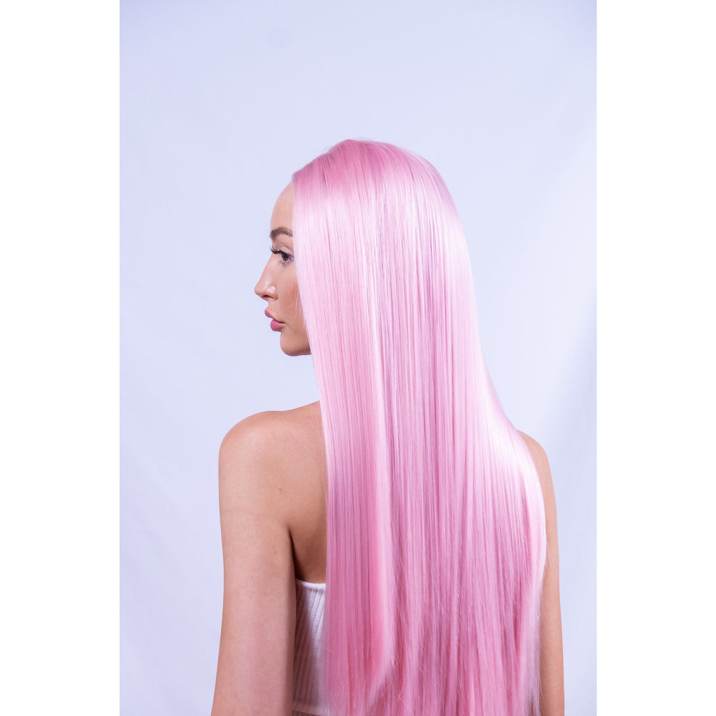 Barbie Pink Synthetic Festival Hair Australia