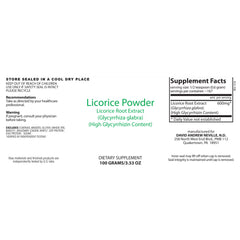 Dr. Neville's Licorice Root Powder 100g