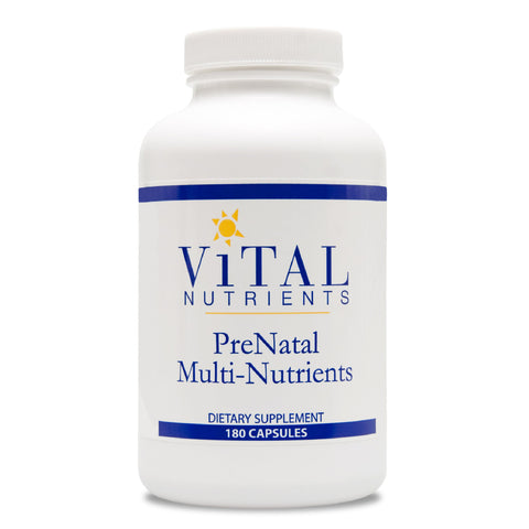 Prenatal Multi-Nutrients 180 Capsules