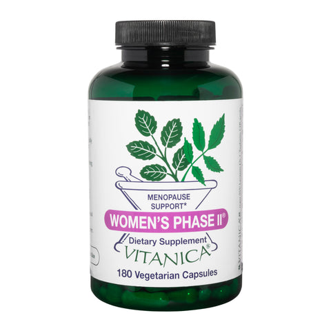 Women's Phase II 180 Capsules