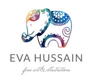 Eva Hussain Fine Art & Illustrations