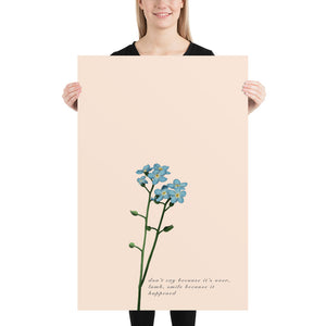 Fine Art Print: Forget-Me-Not