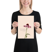 Load image into Gallery viewer, Fine Art Print: Purple Coneflower