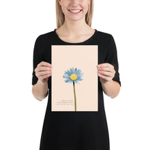 Load image into Gallery viewer, Fine Art Print: Blue Daisy