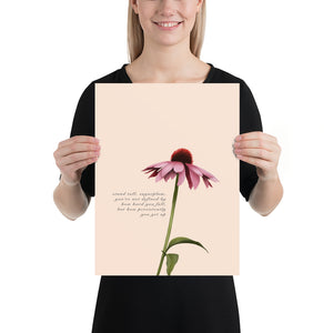 Fine Art Print: Purple Coneflower