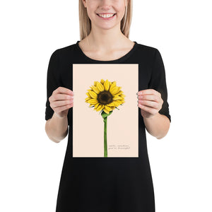 Fine Art Print: Sunflower