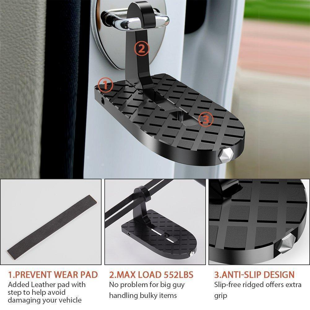 Portable Vehicle Rooftop Door Step
