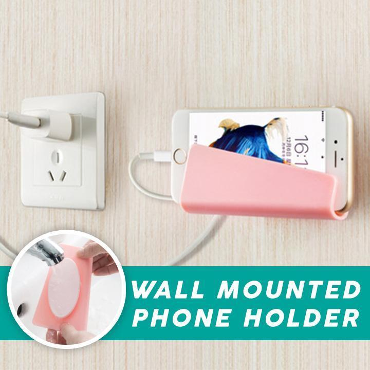 Wall Mounted Phone Holder (2PC)