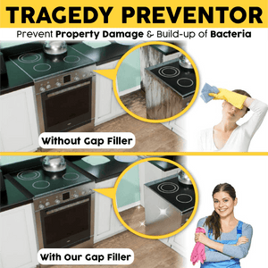 Oil-Proof Silicone Stove Gap Filler