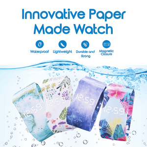 Innovative Paper Made Watch